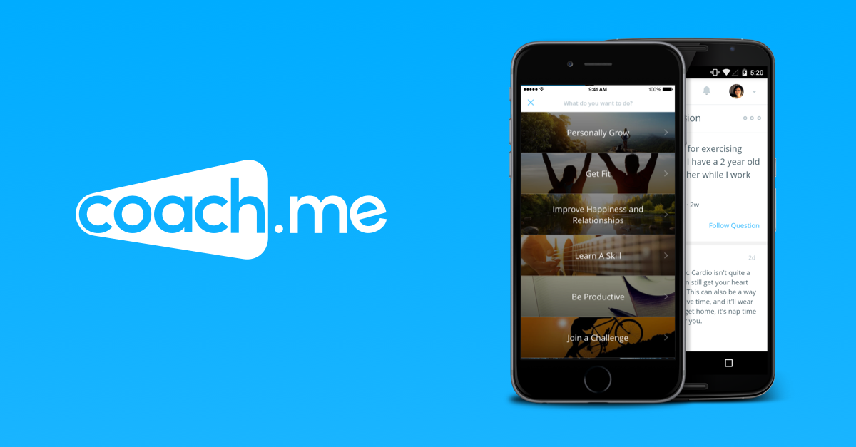 I highly recommend using Coach.me to help form any new habits, track your progress and get support from a community also following that habit.